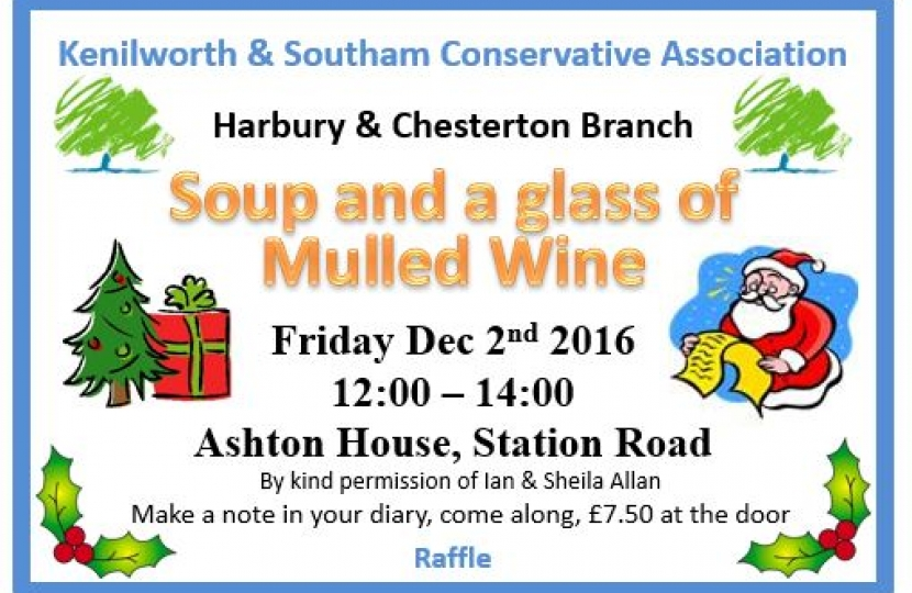 Harbury and Chesterton Branch Soup Kitchen