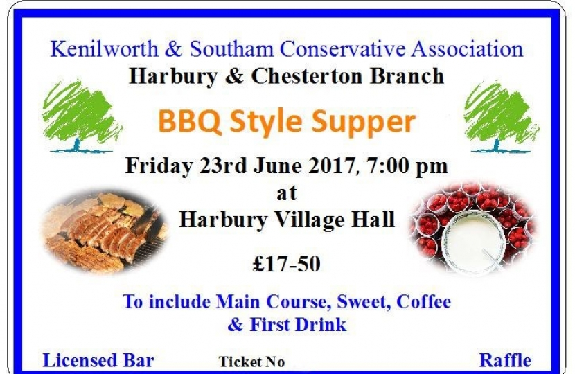 Harbury BBQ Supper